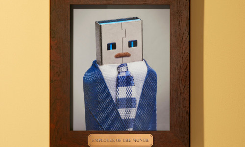 Portrait of a robot.